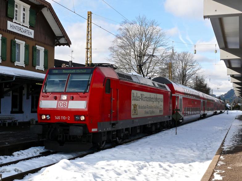 """HINTERZARTEN  in   """"Schwarzwald"""", Hinterzarten/Skizentrum Thoma"""