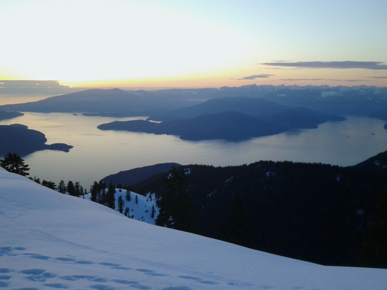 From skychair, Cypress Mountain