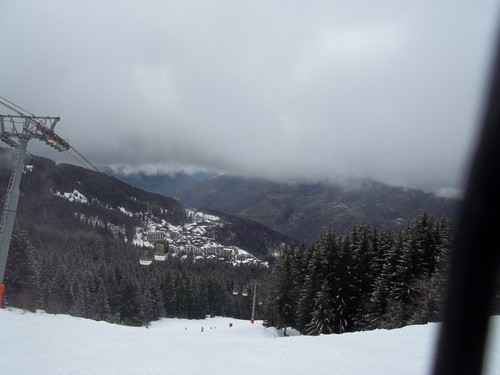 La Tania Ski Resort by: Nick