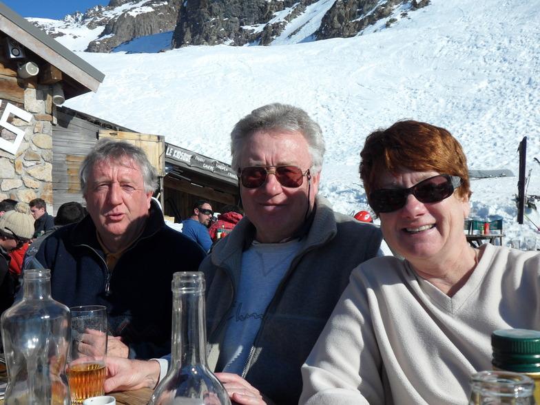 Lunch at Alpette just above Oz, Oz en Oisans