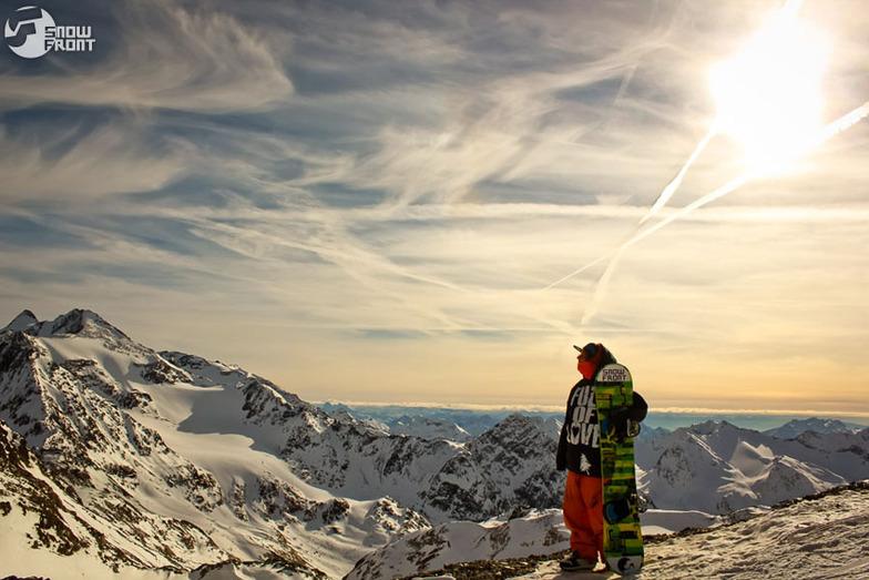 SunSet, Stubai Glacier