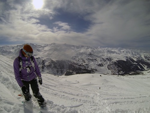 Mottaret Ski Resort by: Steve J Bradley