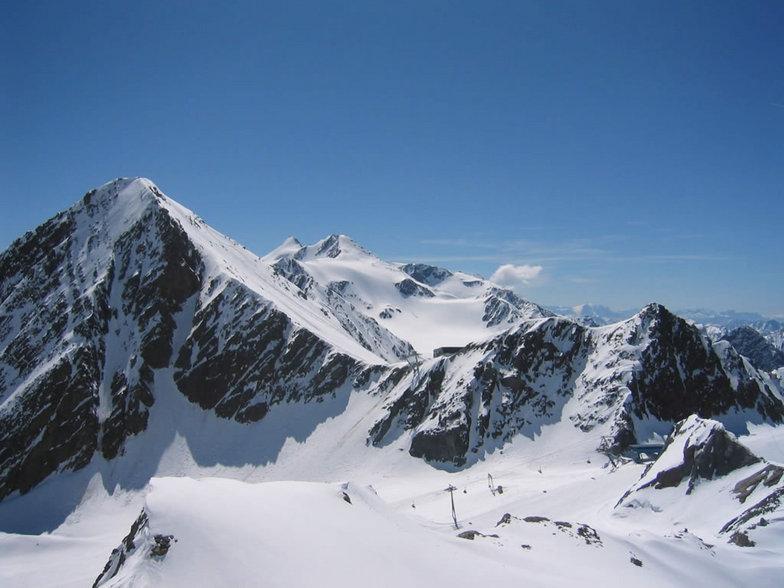 Stubai Glaciar mid June 2004, Stubai Glacier