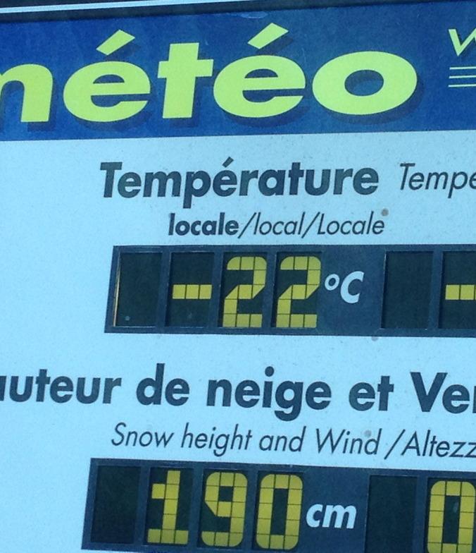 COLD !!, Samoens