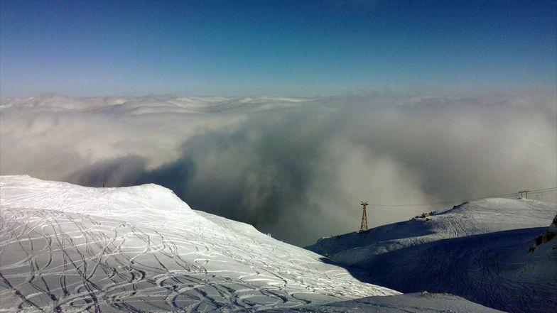 sunny-foggy, Sinaia