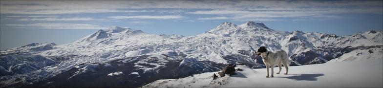 manchita freerider, Nevados de Chillan