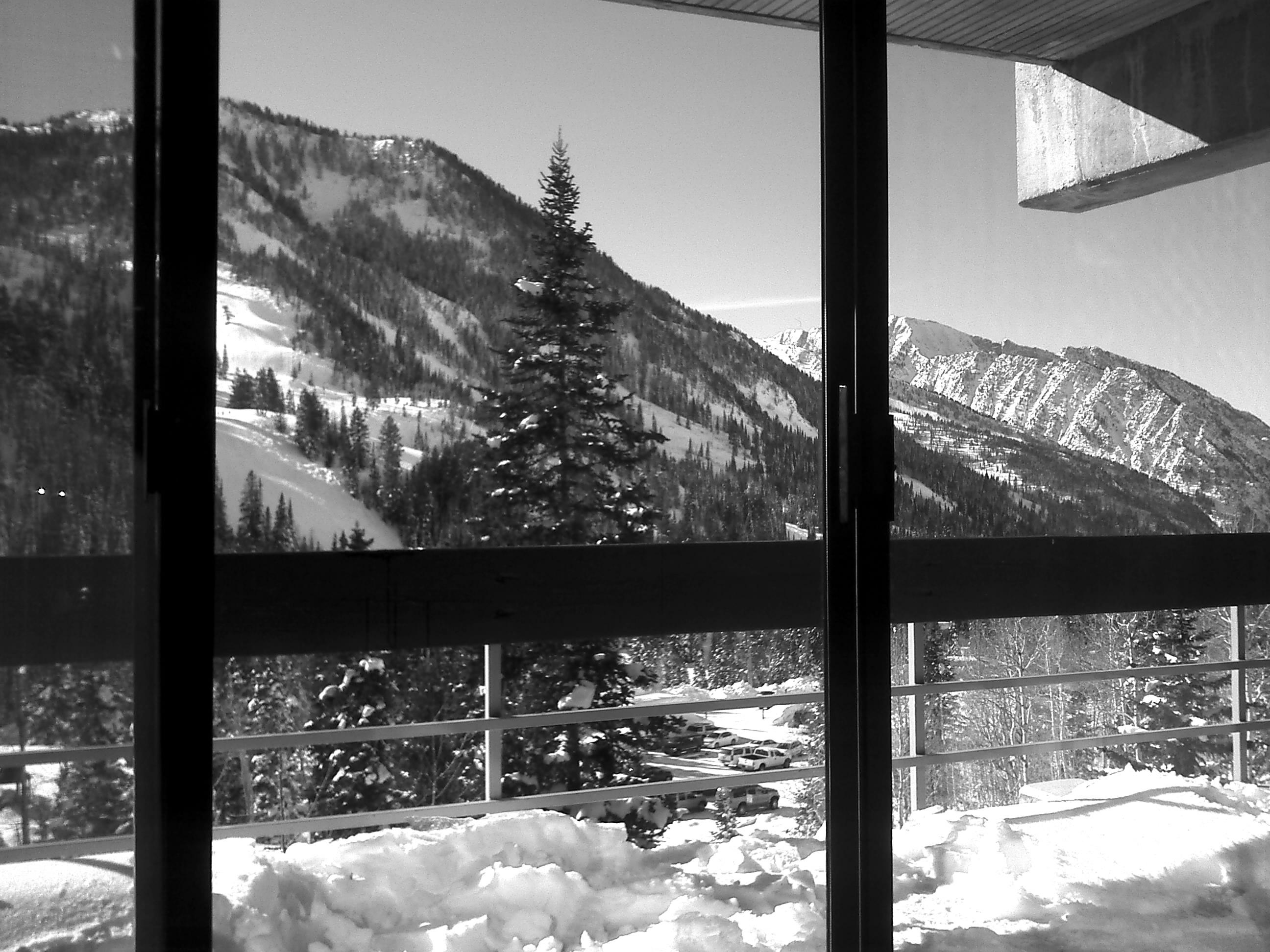 The Lodge At Snowbird Utah.