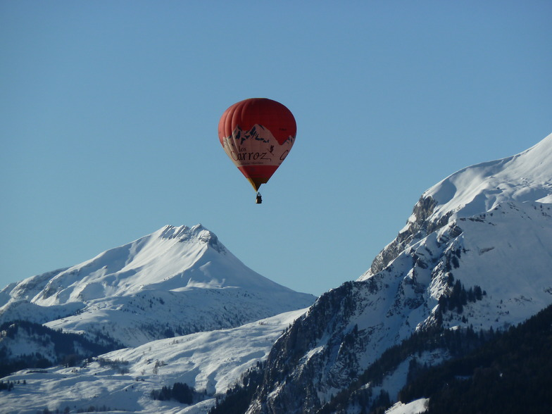 Les Carroz Balloon