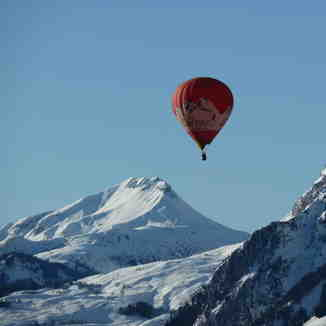 Les Carroz Balloon