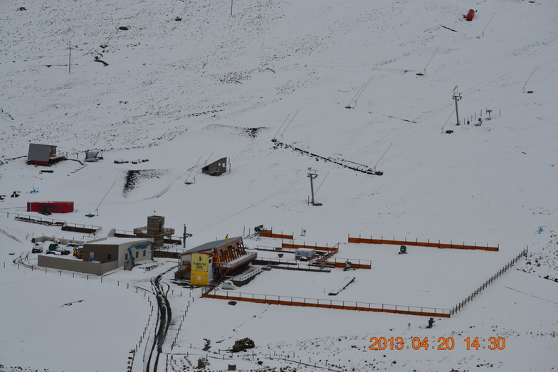Afriski Snowfall 20/04/2013, Afriski Mountain Resort