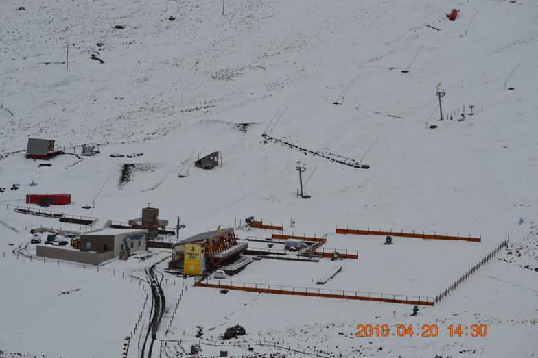 Afriski Snowfall 20/04/2013, Afriski Mountain Resort