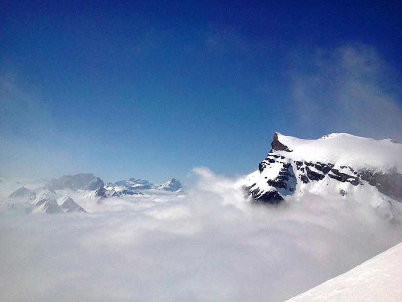 Glacier de Diableret, Les Diablerets