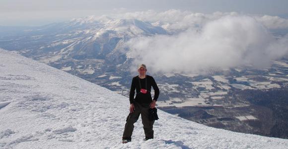 Standing on top of the world., Niseko Weiss