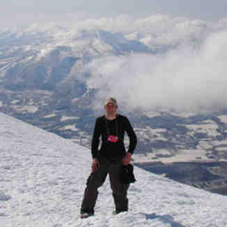 Standing on top of the world., Niseko Weiss