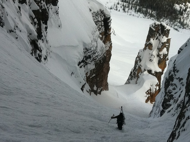 Backcountry bootpacking, Kicking Horse