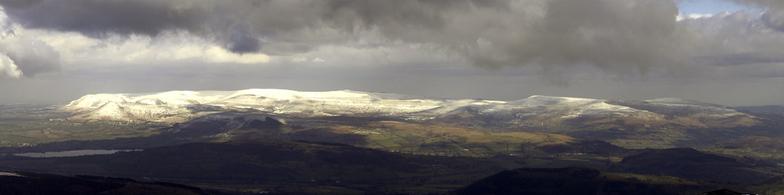 Black Mountain, Brecon Beacons, Pen-y-Fan