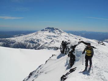 Ski Touring at Volcan Lonquimay, Corralco (Lonquimay)