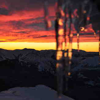 sunrise from Snowline deck, Mount Cheeseman