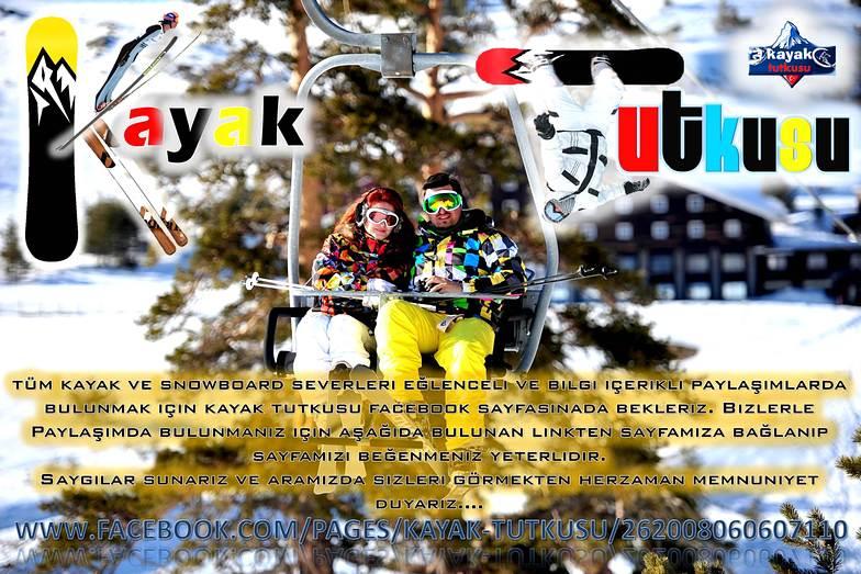 KAYAK TUTKUSU FACEBOOK KIŞ SPORLARI FORUM SAYFASI, Erciyes Ski Resort