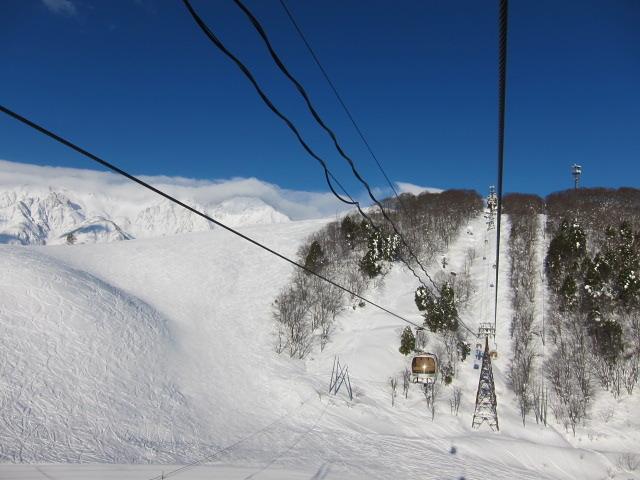 Hakuba Iwatake snow