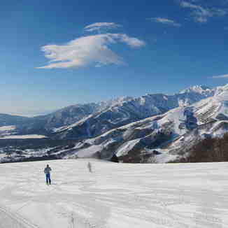 Hakuba Happou One View from Iwatake., Hakuba Iwatake