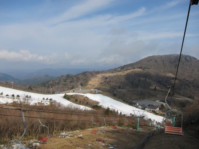 Chausuyama Kogen snow