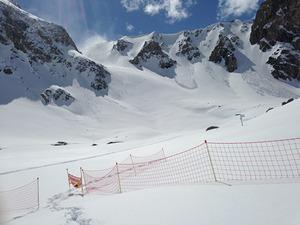 Petit argentier en hiver, Valfrejus photo