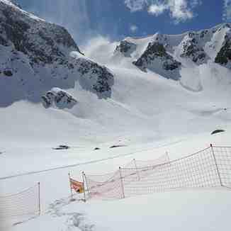 Petit argentier en hiver, Valfrejus