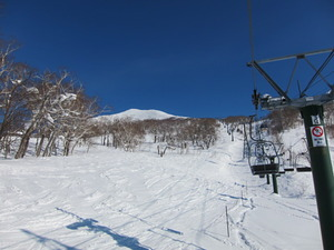 Nice snow, Niseko Annupuri photo
