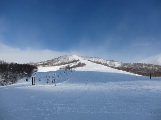 Niseko Moiwa snow