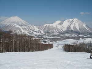 Big Ski Resort in Nippon., Rusutsu Resort photo