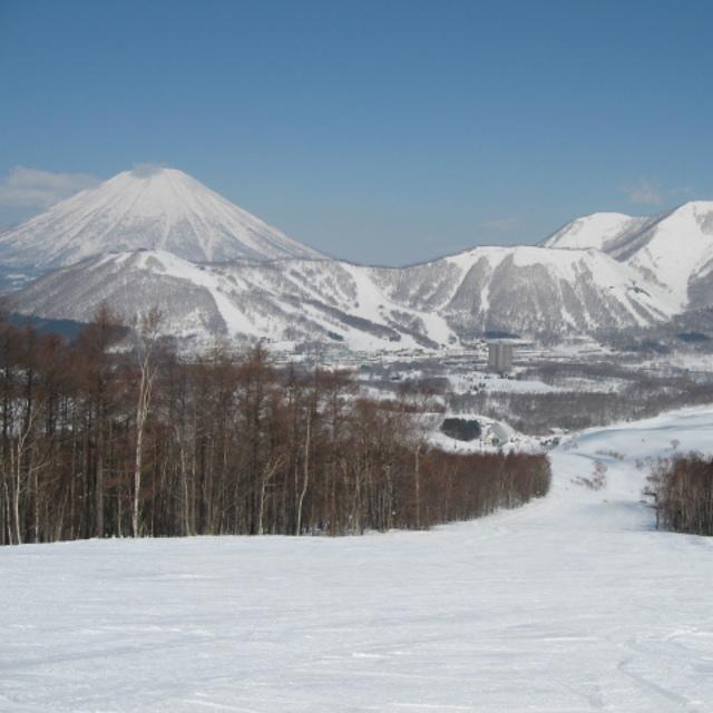 Big Ski Resort in Nippon., Rusutsu Resort