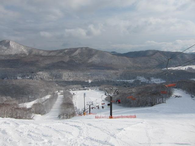 Karurusu Spa Sanraiba Ski Resort., Noboribetsu Kogen Sanraiba