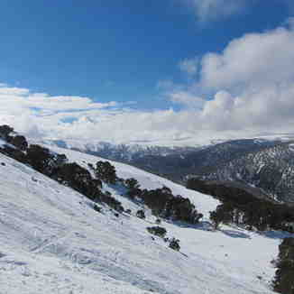 Off piste, Falls Creek