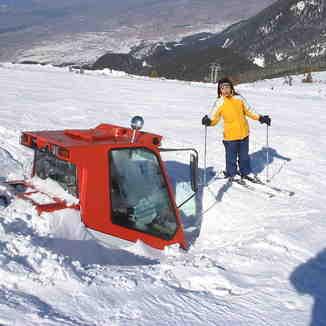 Bansko, two meters of snow...
