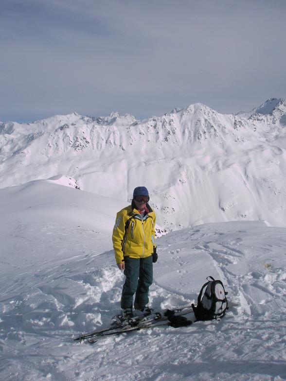 Johonas on Rossboden above Davos