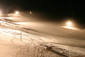 Snow making on the go, Tiffindell photo
