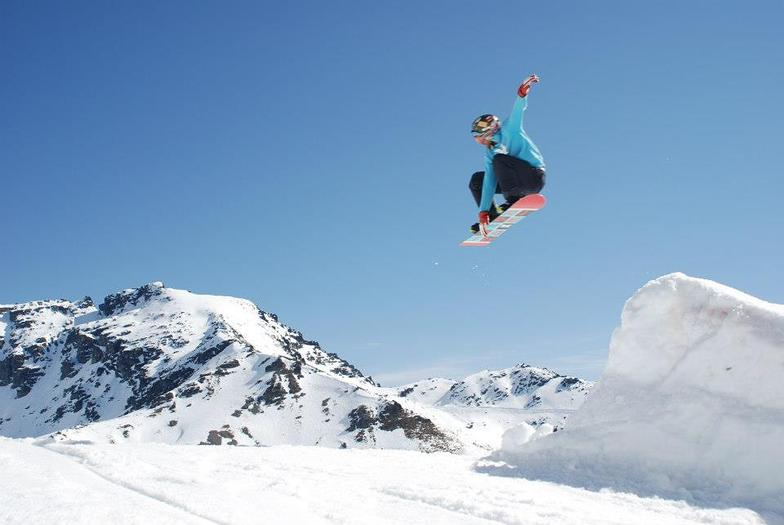 Flying high over the Water Race, Remarkables