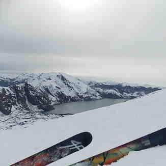 Laguna Laja desde Centro Ski Antuco