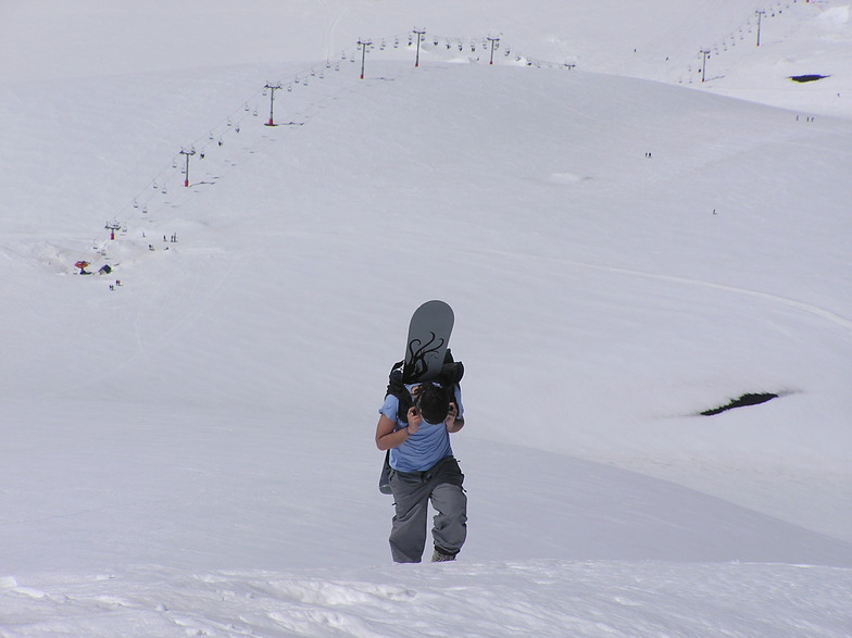 Hoofing it to the crater, Corralco (Lonquimay)