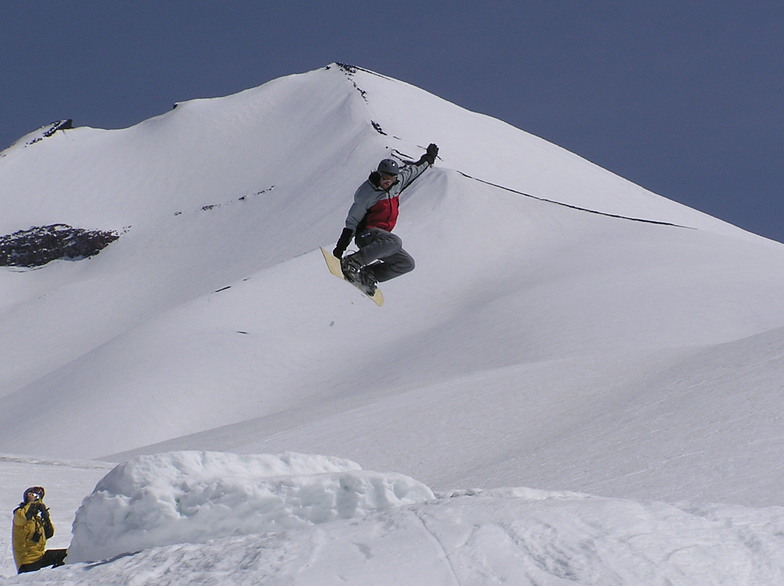 Air time, Corralco (Lonquimay)