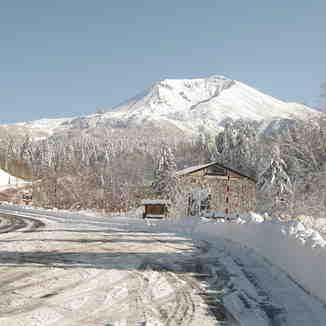 Road to Asahidake Onsen