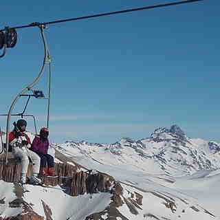 Cumbre, Las Leñas