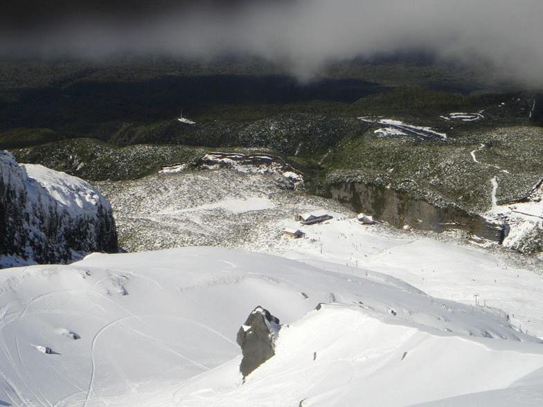 View from top of No.3 Valley, Manganui