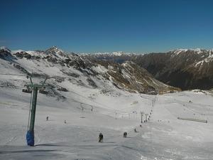 Top of T lift on Rainbow Ski field photo