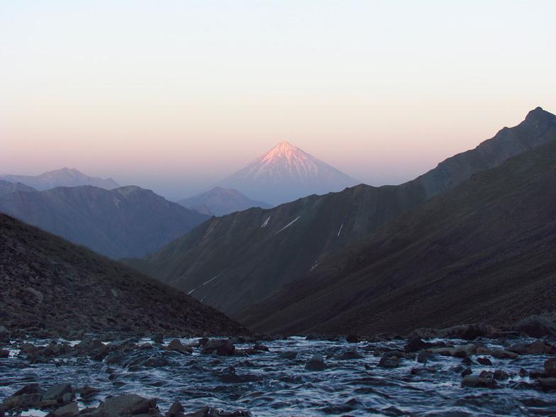 DAMAVAND FROM KHOLENO, Mount Damavand