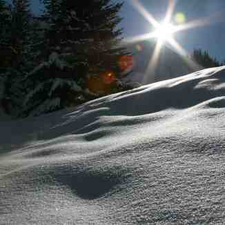 Untouched snow!, Courchevel