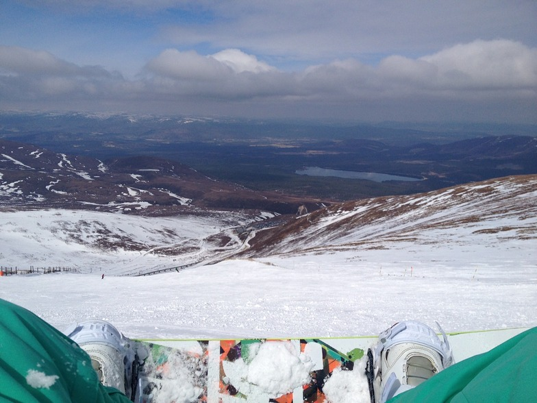 Outline sick with a warm front approaching, Cairngorm