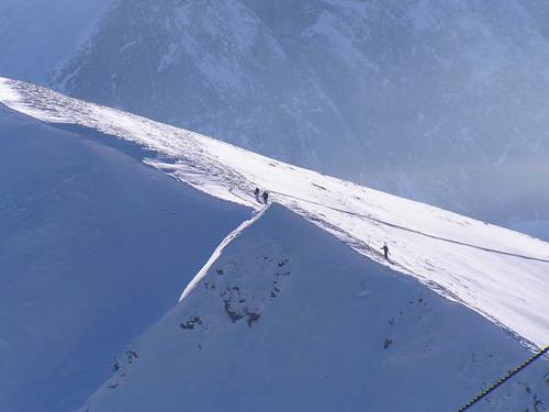 Gstaad - Saanen - Rougemont Ski Resort by: George Gallop