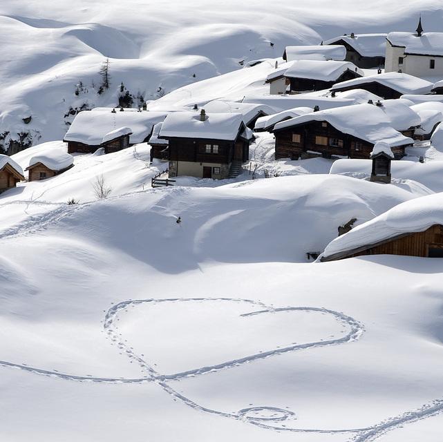 Love snow, Belalp - Blatten - Naters